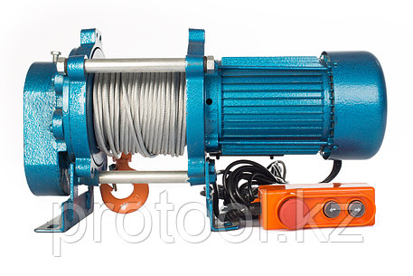 Лебедка TOR ЛЭК-500 E21 (KCD) 500 кг, 380 В с канатом 70 м, фото 2