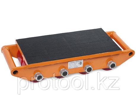 Роликовая платформа подкатная TOR CRO-8 г/п 12 т (N), фото 2