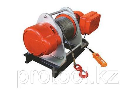 Лебедка электрическая TOR KDJ 1,5 т 100 м 380V, фото 2