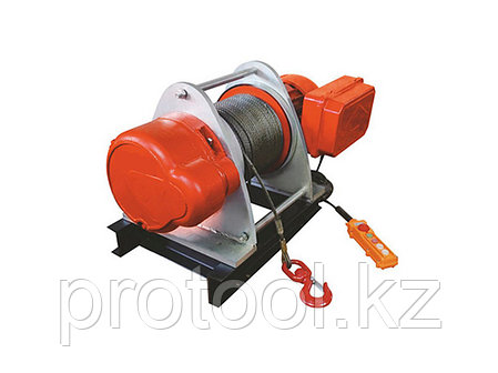 Лебедка электрическая TOR KDJ 2,0 т 100 м 380V, фото 2