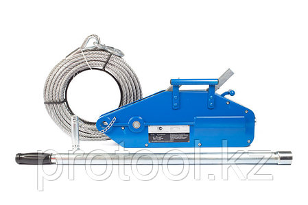 Лебедка рычажная тросовая TOR МТМ 1600, 1,6 т, L=20м, фото 2