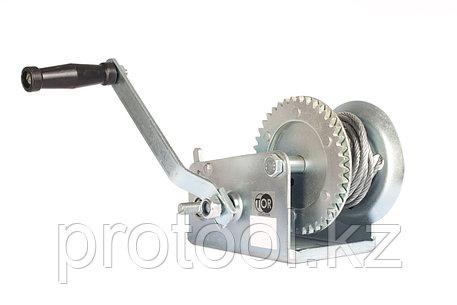 Лебедка ручная TOR ЛФ-2500 (FD) г/п 1,0 т, длина троса 20 м, фото 2