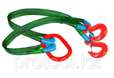 Строп текстильный TOR 2СТ 2,8 т 6,5 м 60 мм, фото 2