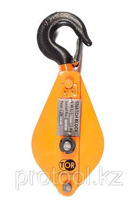 Блок монтажный с крюком TOR HQG(L) K1-0,5 т, фото 2