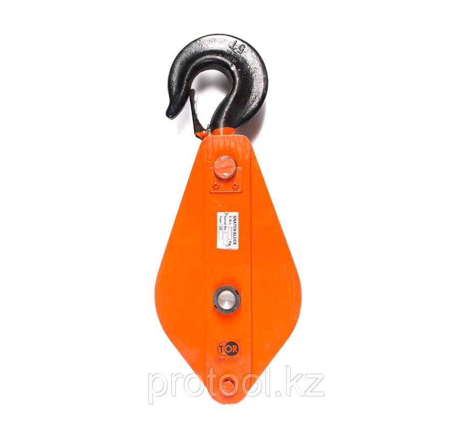 Блок монтажный с крюком TOR HQG(L) K2-5,0 т