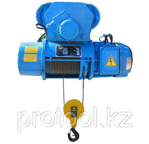 Таль электрическая г/п 1,0 т Н - 6 м, тип 13Т10316, фото 2