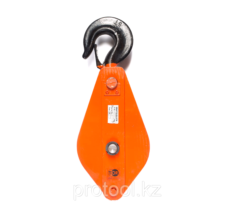Блок монтажный с крюком TOR HQG(L) K3-5,0 т
