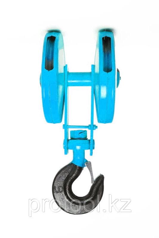 Крюковая подвеска двухблочная для талей электрических CD1 5,0 т