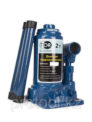 Домкрат гидравлический TOR ДГ-2 г/п 2,0 т (в пластиковом кейсе), фото 2