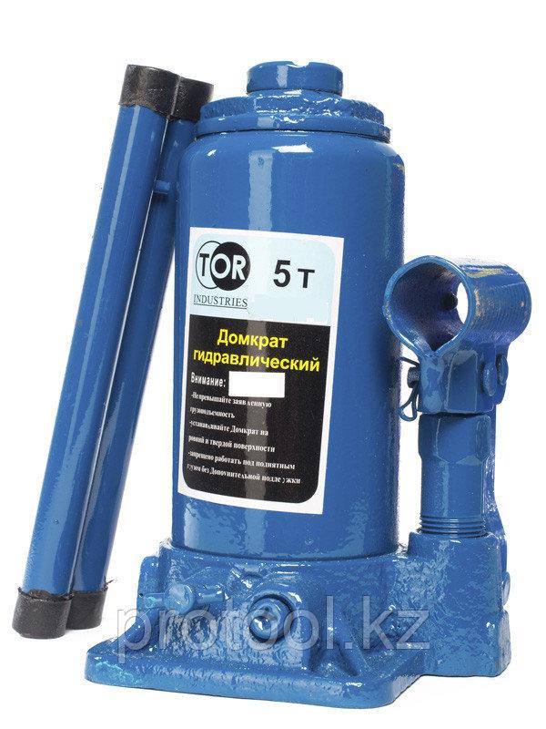 Домкрат гидравлический TOR ДГ-5 г/п 5,0 т (в пластиковом кейсе)