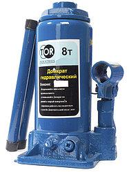 Домкрат гидравлический TOR ДГ-8 г/п 8,0 т (в пластиковом кейсе)