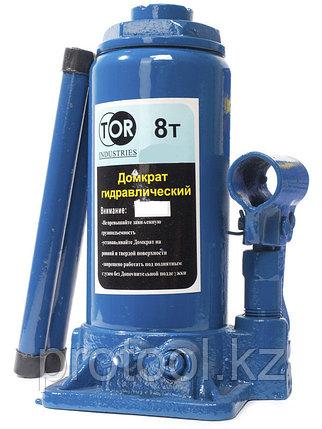 Домкрат гидравлический TOR ДГ-8 г/п 8,0 т (в пластиковом кейсе), фото 2