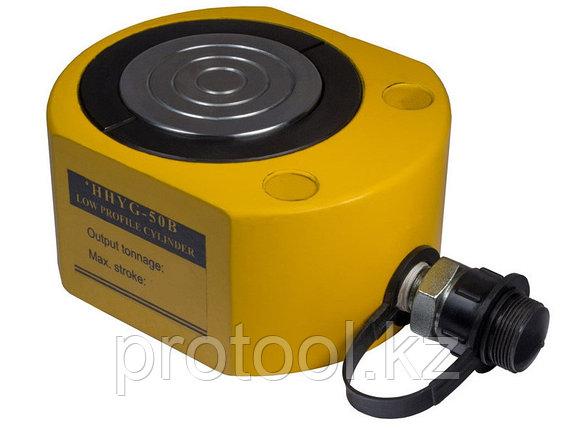 Домкрат гидравлический низкий TOR HHYG-1001 (ДН100М50), 100т, фото 2
