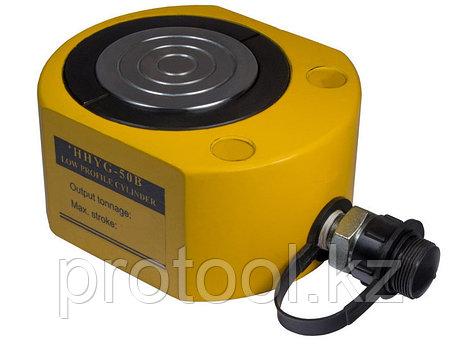 Домкрат гидравлический низкий TOR HHYG-1501 (ДН150М50), 150т, фото 2
