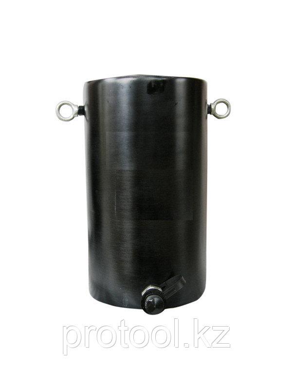 Домкрат гидравлический алюминиевый TOR HHYG-100100L (ДГА100П100), 100т