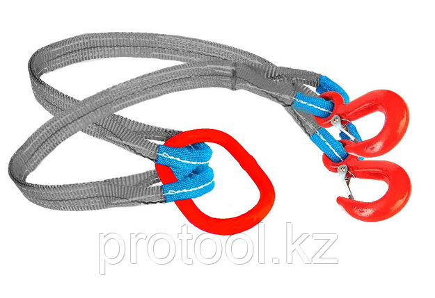 Строп текстильный TOR 2СТ 5,6 т 19,5 м 120 мм, фото 2