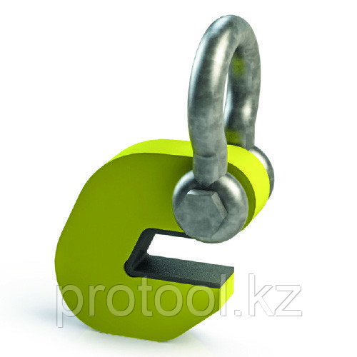 Захват торцевой TOR ZT-10 4,0/8,0 с полиуретановой накладкой