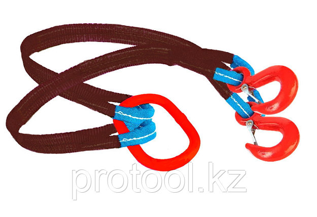 Строп текстильный TOR 2СТ 8,4 т 7,0 м 180 мм, фото 2