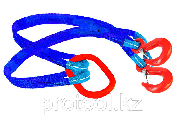 Строп текстильный TOR 2СТ 11,2 т 20,0 м 240 мм, фото 2