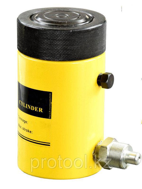 Домкрат гидравлический TOR HHYG-10050LS (ДГ100П50Г), 100т с фиксирующей гайкой