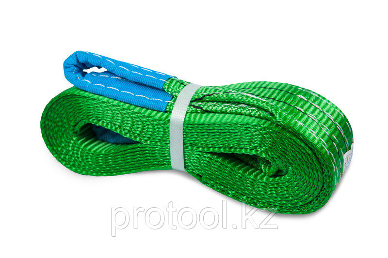 Буксир текстильный ленточный 8,0 т 5,0 м (петля-петля)