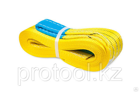 Буксир текстильный ленточный TOR БТЛ 13,5 т 5,0 м (петля-петля), фото 2
