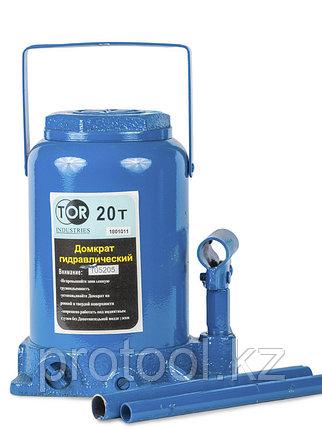 Домкрат гидравлический телескопический TOR ДГТ-20 г/п 20 т, фото 2