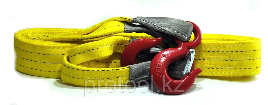 Буксир текстильный ленточный TOR БТЛ 13,5 т 6,0 м (крюк-крюк), фото 2