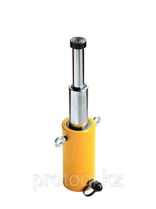 Домкрат гидравлический телескопический TOR HHYG-50300D (ДТ50Г300) 50 т, 2ур