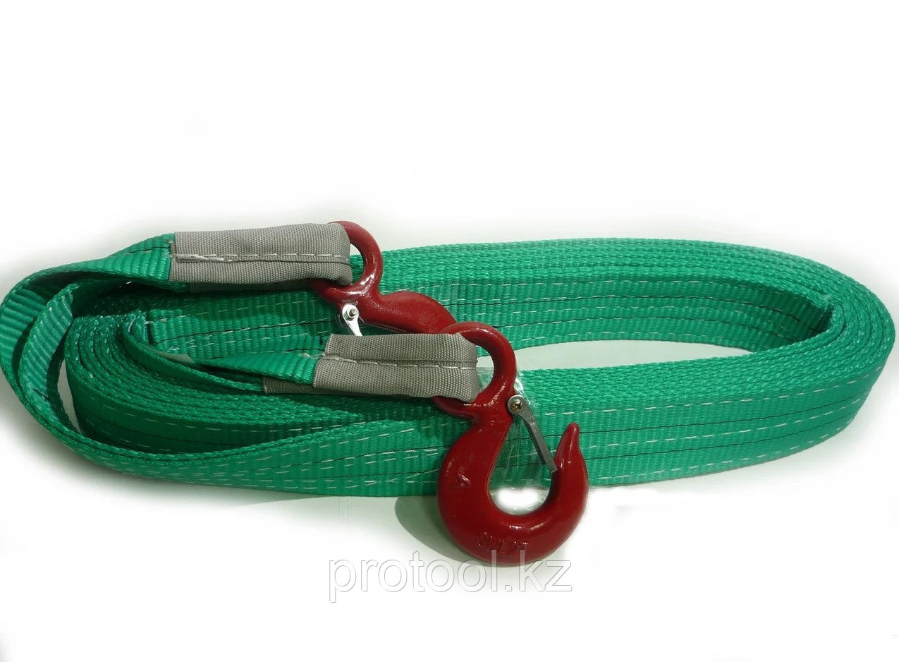 Буксир текстильный ленточный TOR БТЛ 17,0 т 4,0 м (крюк-крюк)