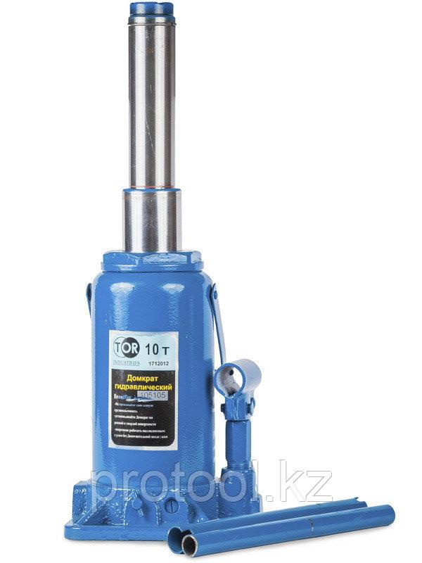 Домкрат гидравлический телескопический TOR ДГТ-15 г/п 15 т, 2 ур