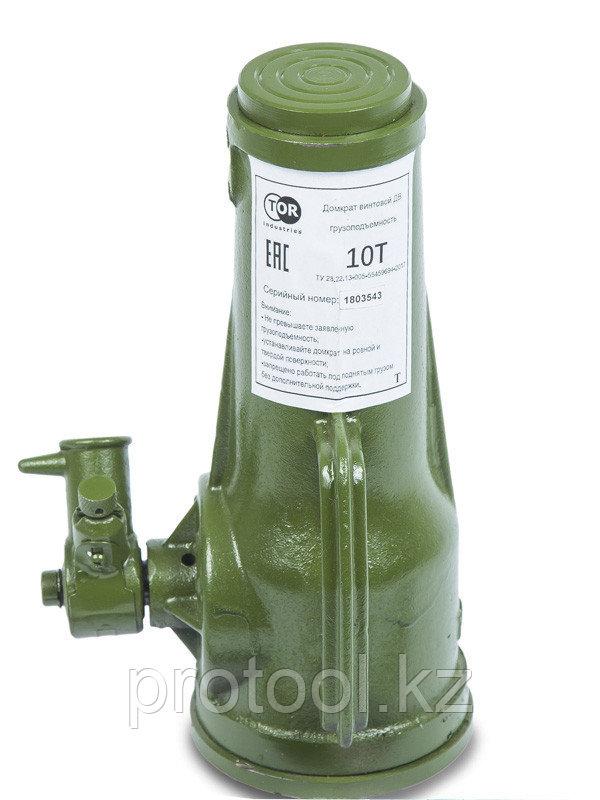 Домкрат винтовой TOR ДВ 10,0 т