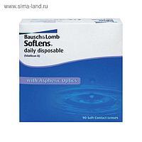 Контактные линзы - Soflens Daily Disposable, -7/8,6, в наборе 90шт