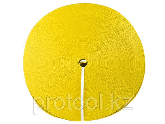 Лента текстильная TOR 5:1 75 мм 9750 кг (желтый), фото 2