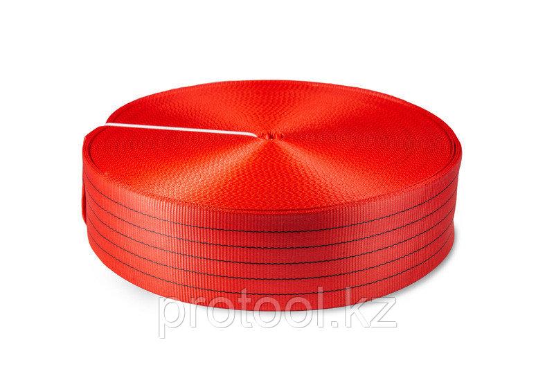 Лента текстильная TOR 6:1 125 мм 18750 кг (красный)
