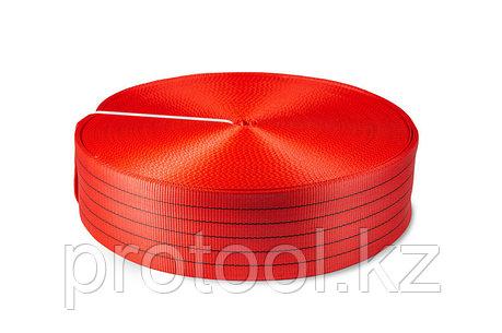 Лента текстильная TOR 6:1 125 мм 18750 кг (красный), фото 2