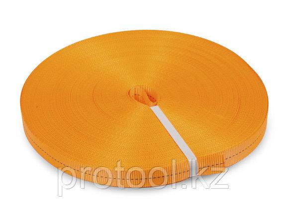 Лента текстильная для ремней TOR 25 мм 1200 кг (оранжевый), фото 2