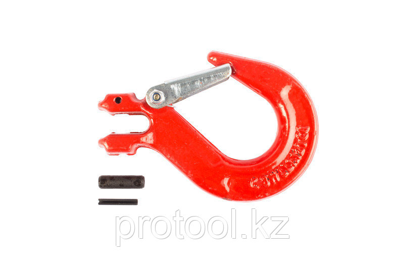 Крюк с вилочным креплением и защелкой TOR г/п 2,0 тн