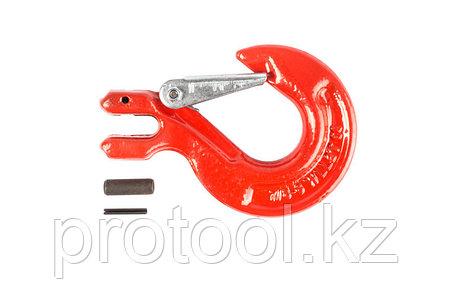 Крюк с вилочным креплением и защелкой TOR г/п 2,0 тн, фото 2