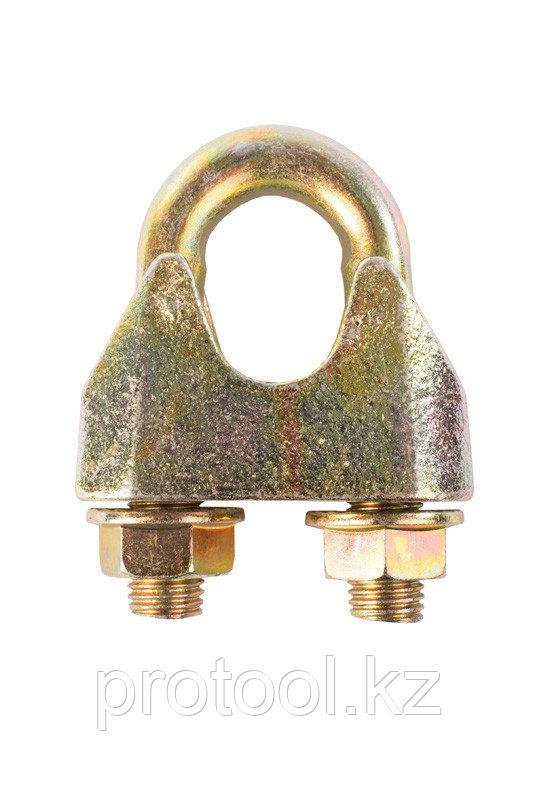 Зажим канатный TOR ф=30 мм DIN 1142