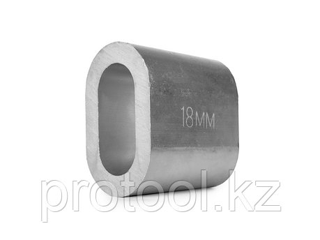 Втулка алюминиевая 18 мм TOR DIN 3093, фото 2