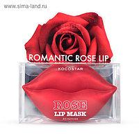 Гидрогелевые патчи для губ Kocostar «Роза», 20 шт.