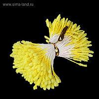 """Тычинки для искусственных цветов """"Пушистые жёлтые"""" длина 6 см (набор 170 шт)"""