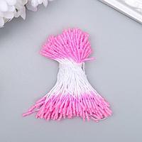 """Тычинки для искусственных цветов """"Пушистые светло-розовые"""" длина 6 см (набор 170 шт)"""