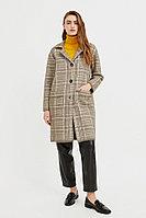 Пальто женское Finn Flare, цвет светло-коричневый, размер XS