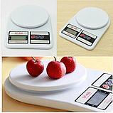 Кухонные электронные весы Electronic Kitchen Scale SF-400, фото 5
