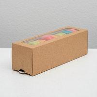 Упаковка для макарони 18 х 5,5 х 5,5 см, на 6 шт (комплект из 20 шт.)