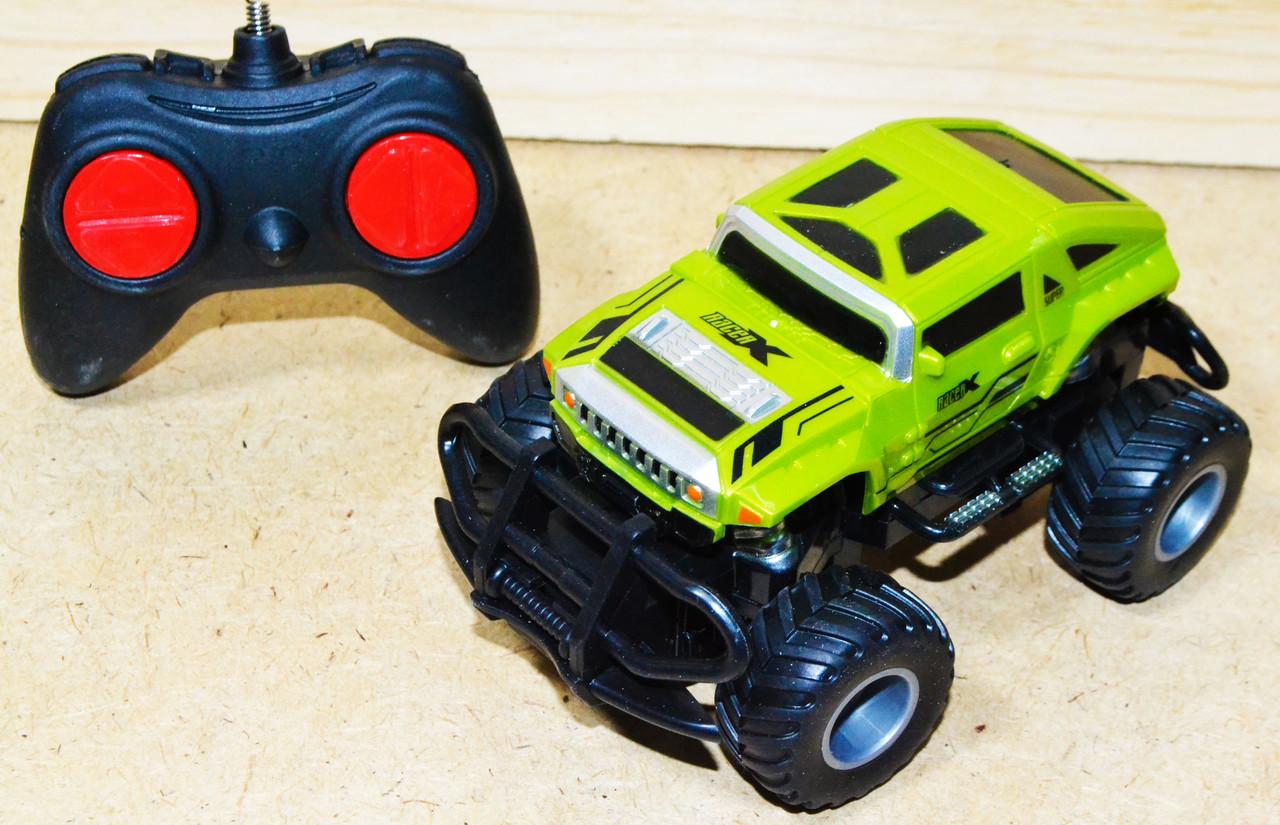 Упаковка повреждена!!!911-562A Suv minicar вездеход на р/у, 4 функции, 1+6*12см