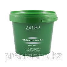 Обесцвечивающий порошок для волос 500гр Kapous Dust Free с экстрактом женьшеня и рисовыми протеинами