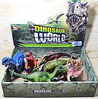 Небольшое повреждение!!! 6889 Динозавры Dinosaur World 6 видов в уп., цена за 1шт 26*11, фото 1